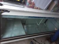 Large counter display fridge