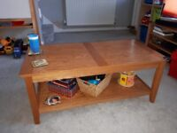 John Lewis Oak Coffee Table