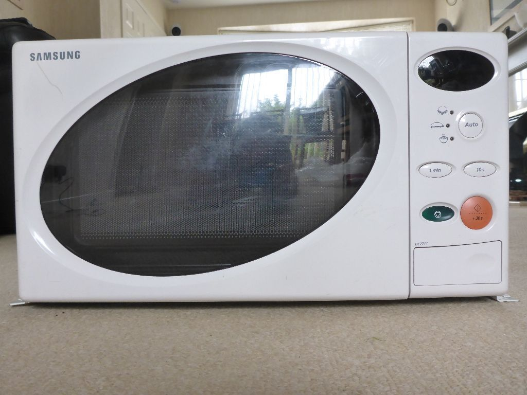 Samsung 12v Microwave Oven Ideal For Caravan Boat Campervan
