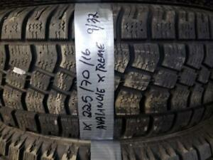 1 winter tire avalanche extreme 225/70r16