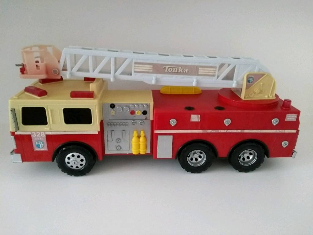 Large tonka toy fire engine