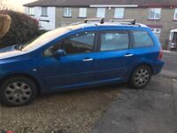Peugeot 307 SW 2.0 HDI 90HP 2005 54 plate needs some TLC still drives