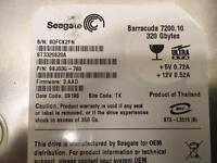 Seagate 320GB hard drive 7200 ide 3.5
