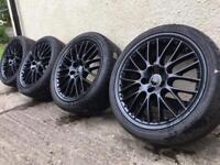 "19"" genuine Audi speedline 5x112 alloy wheels"