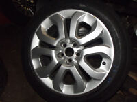 "MG ZT ROVER 75 17"" SPORT MOMO FLAME STYLE ALLOY WHEELS AND TYRES + VAUXHALL FIAT VW 5 X 100 CARS"