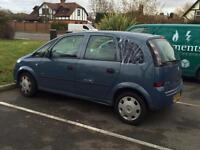 2006 Vauxhall meriva 1.6 auto cheap
