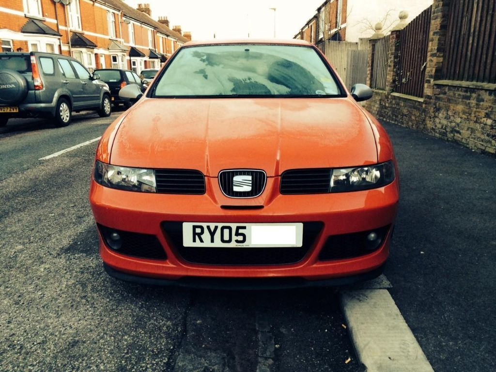 2005 seat leon fr fr tdi 150 red cupra r factory fitted body kit wheels 1m arl in. Black Bedroom Furniture Sets. Home Design Ideas