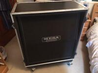 Mesa Boogie Rectifier Angled 4x12 & custom 'live in' flight case