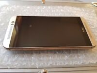 HTC One M9 Gold Unlocked to any Network in Good condition