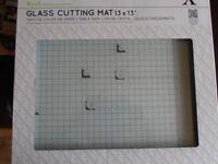 X-Cut Glass Cutting Mat, 13 x 13, never used