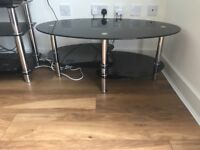TV stand and matching coffee table £99 for both