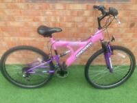 Adults dual suspension mountain bike
