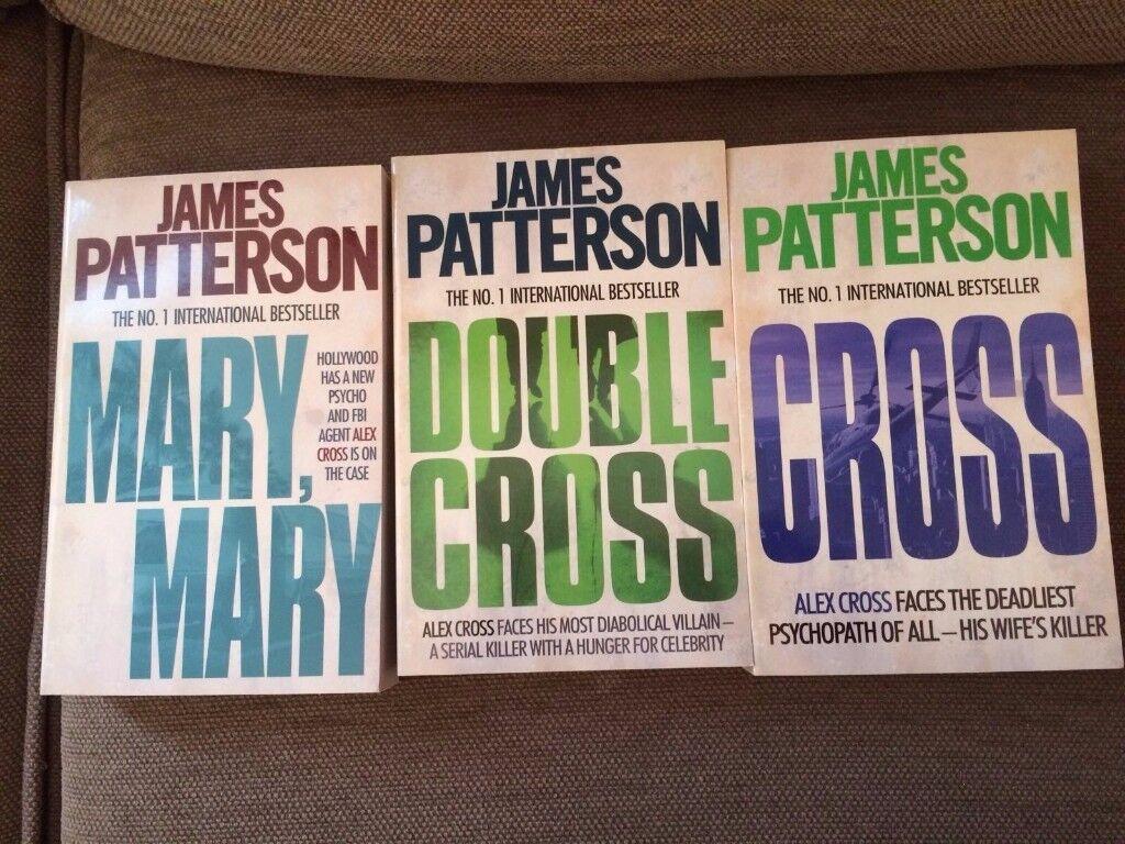 James Patterson books Paperback (unread)
