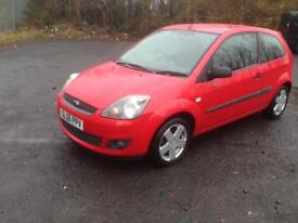 06/06 FORD FIESTA 1.25 CLIMATE ZETEC 3DR