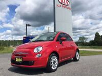 2014 Fiat 500C Cabriolet | GET READY FOR SPRING!