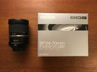 Tamron SP 24-70 mm F2.8 Di VC USD Lens for Canon