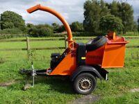 "Entec CH 25 PH 5"" Petrol Wood Chipper (Timberwolf TW 125 PH)"