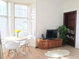 BRIGHT AND VERY SPACIOUS 1 BED FURNISHED FLAT IN BAXTER PARK AREA