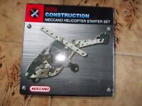 Marks and Spencer Meccano helicopter starter set new in box