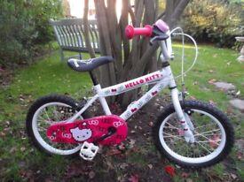 Hello Kitty Push Bike