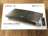 Brand New Samsung UBD-K8500 Ultra HD Blu-ray Player