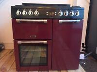 Leisure multi fuel range cooker
