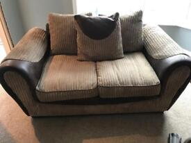 2 x 2 seater sofa/couch/settee