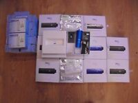 12 brand new BOXED PAX PLOOM VAPORISER WITH 12 adapters