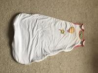 Mamas and Papas baby boy or girl sleeping bag 0-6 months dreampod