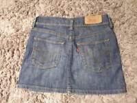 Jeans mini skirt Levi's XS