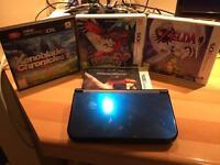Nintendo 3DS XL + Zelda, Pokemon Y and Xenoblade