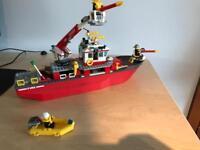 Lego City Floatable Fire boat