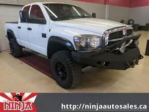 2007 Dodge Ram 2500 SLT DIESEL 4x4 Lifted Big Wheels