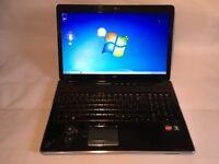 """HP Pavilion DV7-3112sa 17"""" Entertainment PC, 297GB HD, 4GB RAM"""