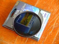 Hoya PRO1 77mm circular polarizer filter