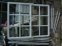 Sashes for vertical hung sash window, Spiral Balance, Brighton Catch with locks