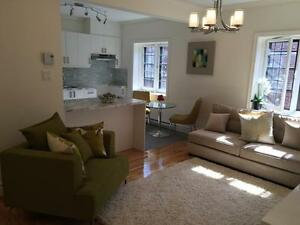 Gorgeous 3 1/2 apartment for rent Westmount Top floor 850 sq ft