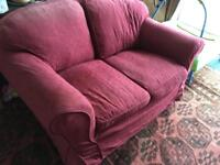 2 seater sofa with 2 covers