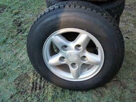 Classic Range Rover Wheels/Tyres