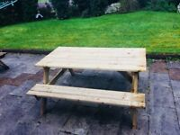 Picnic Table for Gardening