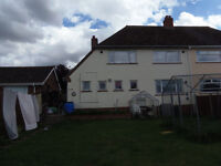 Large 3 bed semi -Lincolnshire need 1/2 bed house/bungalow Norwich area