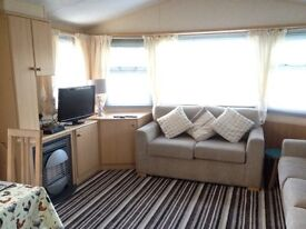Just reduced...Willerby Solstice 3 bed static with double glazing and central heating plus decking