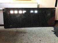 Marble granite worktop (black)