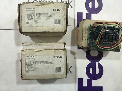 Lot New Kantech Electronics Reb-8 Relay Expansion Board