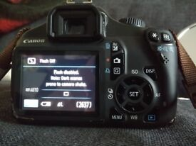 Canon EOS 1100D Digital SLR Camera (With 18-55mm)
