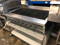 Imperial Charcoal Grill 8 burner 1.2m/Counter Top Radiant Broiler