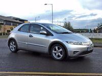 Honda Civic MK8 1.8 iVTEC Manual Petrol Silver 5Door New MOT