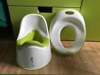 IKEA Children's Toilet Seat & Potty