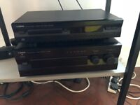 Yamaha Amplifier, CD Player and speakers (SOLD)
