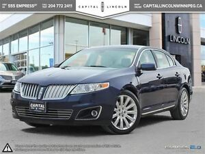 2011 Lincoln MKS AWD **Nav-Rear Cam-Heated Seats**